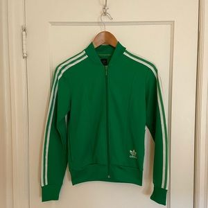 Adidas Originals Green Track Jacket